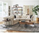 Home Decorators Collection Holden 47 in. W Natural Reclaimed Industrial Cart Table