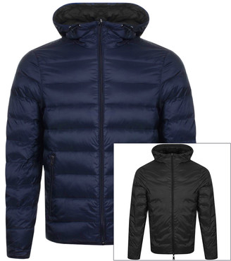 Giorgio Armani Emporio Reversible Down Jacket Navy
