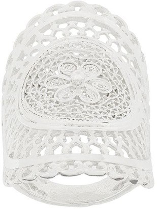 Wouters & Hendrix My Favourite filigree long finger ring