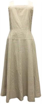 Comme des Garcons Beige Wool Dresses