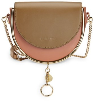 See by Chloe Mara Evening Leather Crossbody Bag
