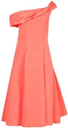 Carolina Herrera asymmetric cocktail dress