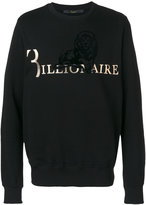 Billionaire branded lion sweater - men - Cotton - M