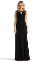 Erin Fetherston ERIN RUNWAY Clemence Gown
