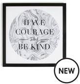 Graham & Brown Have Courage Framed Wall Art