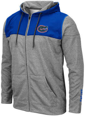 Colosseum Men Florida Gators Nelson Full-Zip Hooded Sweatshirt