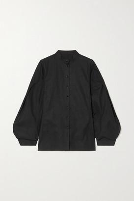 Jil Sander Cotton-poplin Shirt - Black