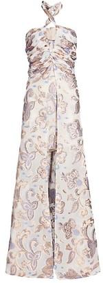 Alexis Falana Halter High-Low Dress
