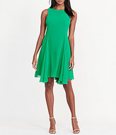 Lauren Ralph Lauren Sleeveless Solid Georgette A-Line Dress