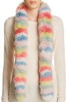 Jocelyn Multi Stripe Fox Fur Scarf - 100% Bloomingdale's Exclusive