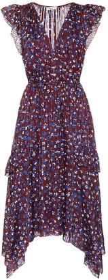 Ulla Johnson Aurelie cotton and silk-blend dress
