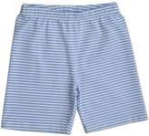 Three Friends Apparel Blue & White Stripes Shorts