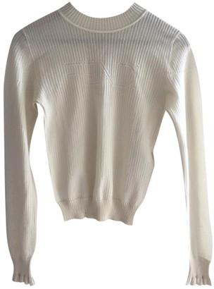Fendi Beige Silk Knitwear for Women