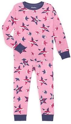 Hatley Little Girl's & Girl's Twinkle Stars 2-Piece Pajama Set
