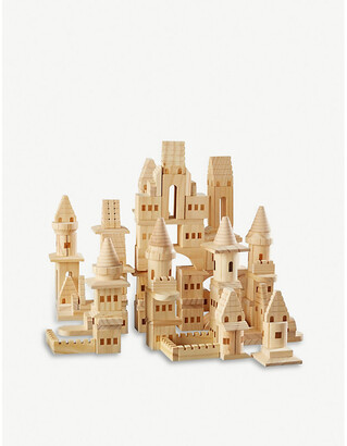 Selfridges Castle wooden building blocks 150 pieces