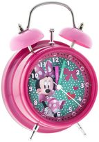 Disney Disney's Minnie Mouse Polka-Dot Analog Alarm Clock