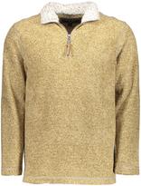 True Grit Yellow Plaid Half-Zip Pullover