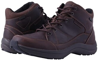 Dunham Simon Waterproof (Black) Men's Lace up casual Shoes