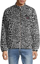 Ovadia & Sons Leopard-Print Faux Fur Reversible Jacket