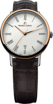 Maurice Lacroix LC6067-PS101-110 stainless steel and leather watch