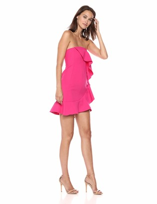 LIKELY Women's Monetta Strapless Ruffle Dress
