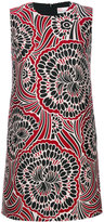 RED Valentino floral pattern A-line dress - women - Polyester/Acetate - 38