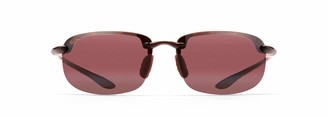 Maui Jim Sunglasses | Ho'Okipa Reader R807-1020 | Tortoise Sport Frame Frame Polarized Maui Rose Lenses with Patented PolarizedPlus2 Lens Technology