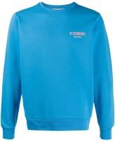 Iceberg logo print relaxed-fit sweatshirt