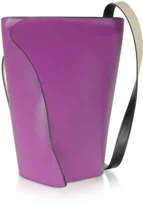 Giaquinto Layla Orchidea-egret Shoulder Bag