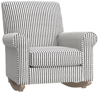 Pottery Barn Kids Charleston Convertible Rocking Chair & Ottoman