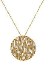 Effy 14k Yellow Gold Diamond Pendant