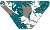 Mikoh Zuma Printed Bikini Briefs - Army green