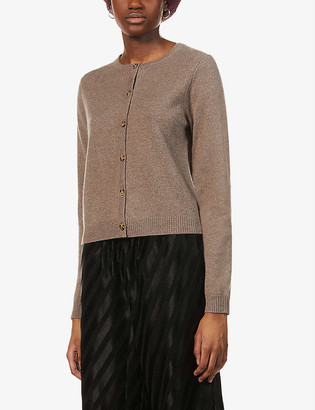 Peoples Republic of Cashmere Scoop-neck cashmere cardigan