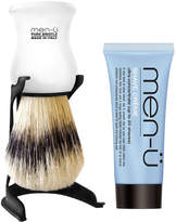Menu men-ü Barbiere Shave Brush and Stand - White