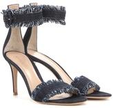 Gianvito Rossi Portofino Fabric Sandals