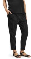 Topshop Pin Dot Trousers (Maternity)