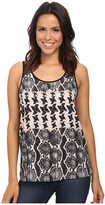 Rock and Roll Cowgirl Sleeveless Top B5-4460