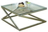 ACME Furniture Coffee Table Brushed Nickel - ACME