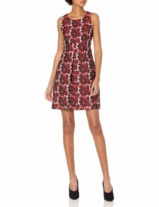 Rachel Roy Women's Floral Jacquard Dress