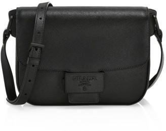 Prada Embleme Leather Crossbody Bag