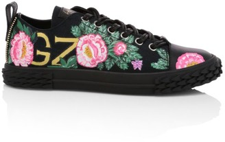 Giuseppe Zanotti Giuseppe x Swae Lee Floral Blabber Low-Top Sneaker