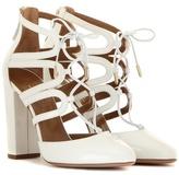 Aquazzura Patent Leather Sandals