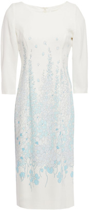 Goat Island Floral-print Stretch-crepe Dress