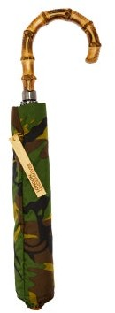 London Undercover Whangee-handle Telescopic Umbrella - Mens - Multi