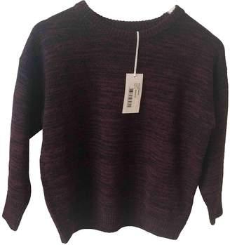 BA&SH Bash Fall Winter 2019 Burgundy Wool Knitwear