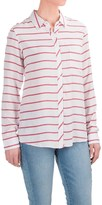 Andrea Jovine AJ Yarn-Dyed Shirt - Long Sleeve (For Women)