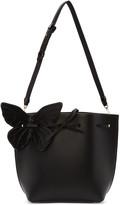 Sophia Webster Black Remi Butterfly Bucket Bag
