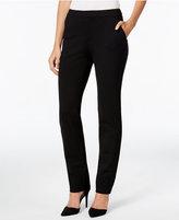 Charter Club Petite Slim-Leg Ponte Pants, Only at Macy's