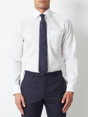 John Lewis & Partners Non Iron Cotton Twill Regular Fit Shirt