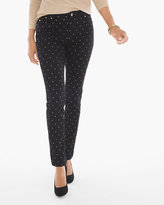 Chico's Foil Dot Pull-on Jeggings